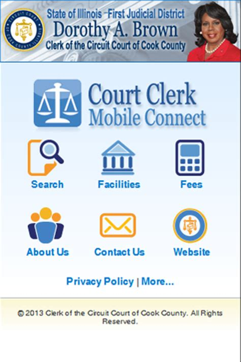 Cook County Civil Search Cook County Circuit Court Announces New Mobile App Illinois State Bar Association