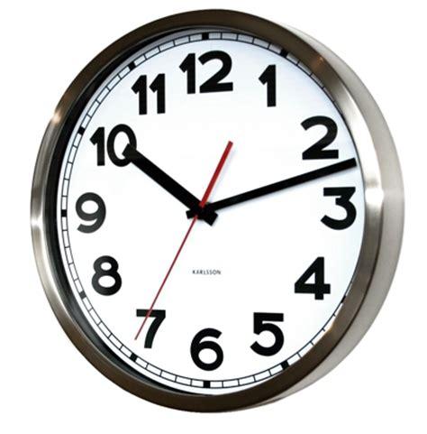 creative clocks by karlsson clocks bonjourlife uk karlsson numbers steel clock white at contemporary heaven