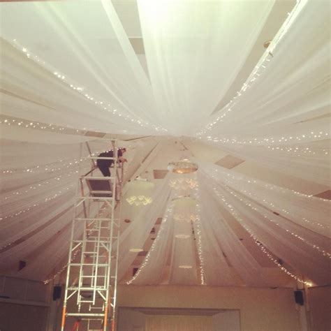 canopy string lights ceiling canopy with string lights venue dressing