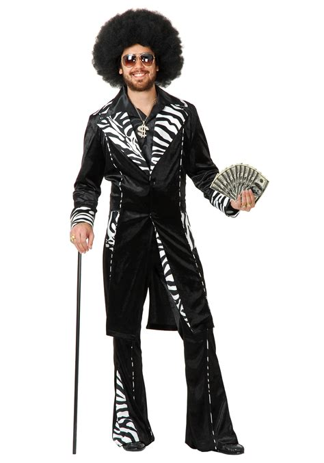 Starsky And Hutch Fashion Plus Size Mac Daddy Pimp Costume