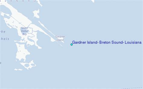 gardner island breton sound louisiana tide station