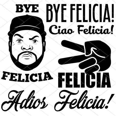 Felicia Instan Black Ch120812 bye felicia cutting files in svg eps dxf and png for
