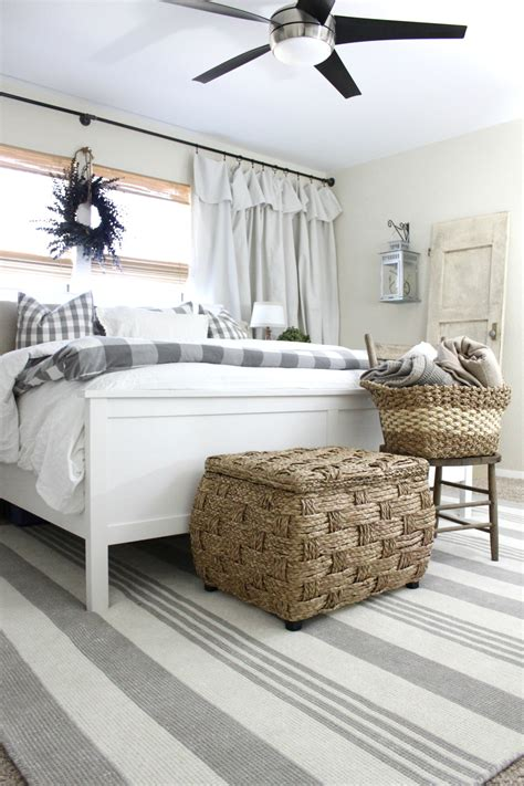 Bedroom Rugs by Master Bedroom Rug Makeover An Inspired Nest
