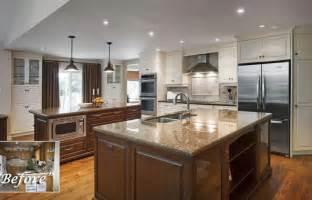 Fixer Upper Double Kitchen Island » Ideas Home Design