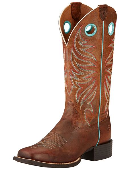 s ariat 13 quot up square toe boots sassy