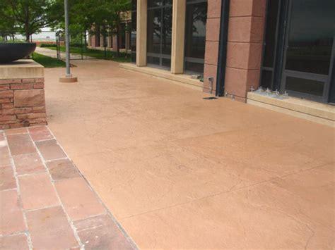 solid color concrete stains  ideal   recolor