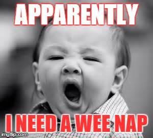 Sleepy Baby Meme - sleepy baby imgflip
