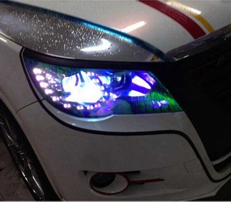 light tint installation vinyl headlight tint installation service chicago