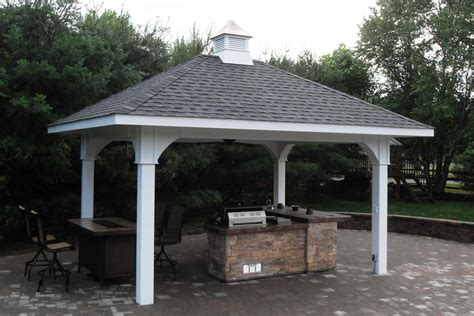pavilion plans backyard gazebos in pa backyard pergolas and pavilions built by