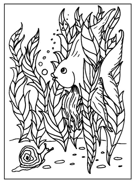 Fish Coloring Pages S Mac S Place To Be