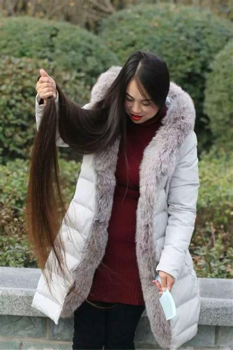 floor length long hair  winter chinalonghaircom