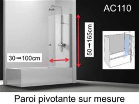 Baignoire 90x180 by Paroi De Largeur 90 Cm 90x180 90x185 90x190