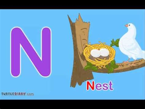 5 Letter Words N In The Middle toddler words words starting with n