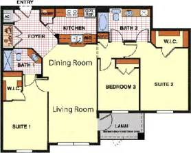 exceptional duplex floor plans with double garage #5: 3-bedroom