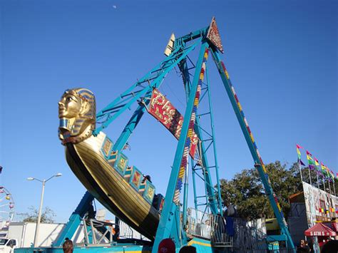 swing ride at fair photo