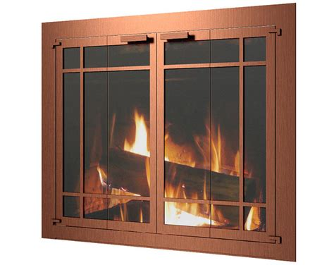 Fireplace Doors Chicago by W Custom Fireplace Doors Arlington Heights