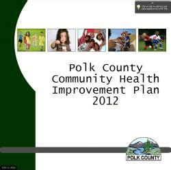 Polk County Property Records Oregon Polk County Community Health Improvement Plan 2012 Polk