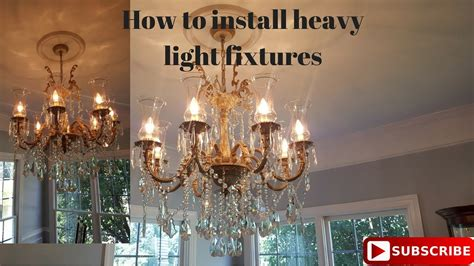 how to hang a heavy light fixture from the ceiling how to hang a heavy l from the ceiling