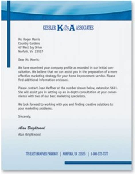 great business letterhead how to write a great business letter paperdirect