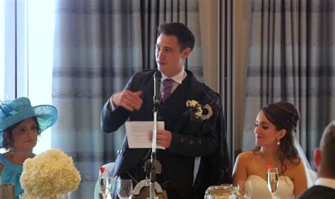 groom leaves his bride stunned with a surprise michael groom leaves wedding stunned when he reveals this during