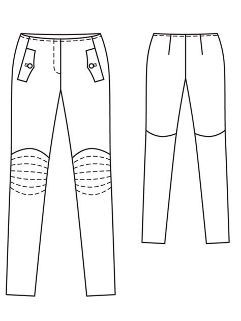 leather biker pants 03 2013 106 sewing patterns