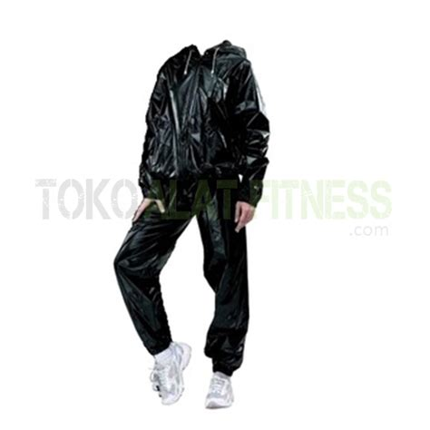 Unistar Sauna Suit siken sauna suit hitam size m toko alat fitness