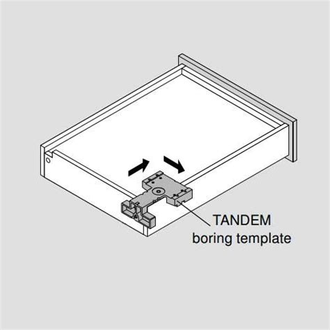 blum hinge template blum universal tandem installation template for locking