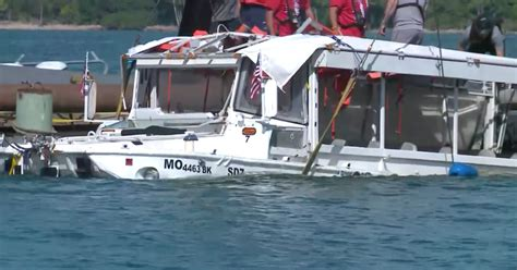 duck boat news duck boat that sank in deadly accident raised from