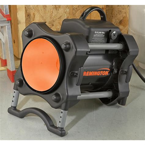 remington 174 55k btu forced air propane heater 167408