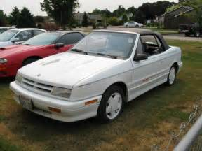 1991 dodge shadow es convertible turbo 400obo turbo