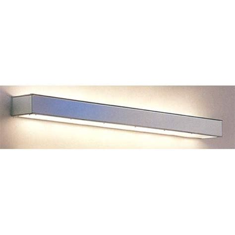 valance lighting polished stainless 24 inch valance light fixture paul