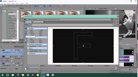 cara membuat intro video sony vegas belajar sony vegas pro cara membuat facecam versi on the