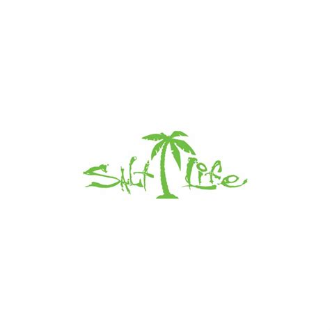 salt life decal salt life signature palm tree decals