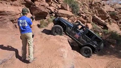 moab jeep trails cliff hanger 2014 moab jeep jamboree youtube