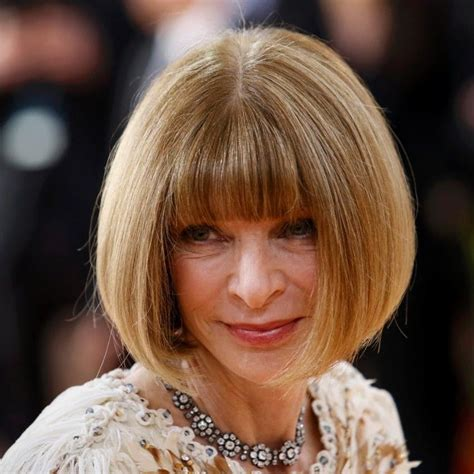 bob haircuts vogue met gala 2016 the anna wintour bob is the red carpet