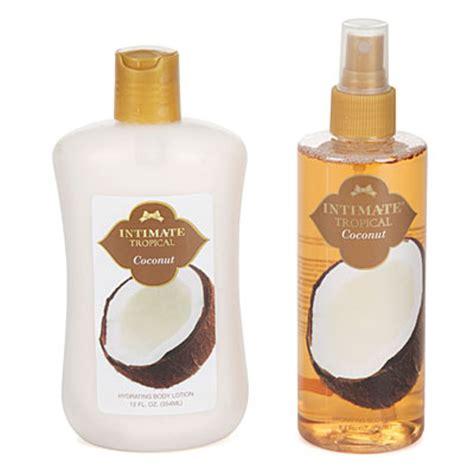 Mist Tropical Zoya Cosmetics intimate tropical coconut lotion mist set big lots