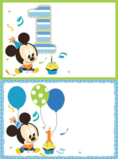 1st birthday invitation template free printable free printable mickey mouse blank invitation template http
