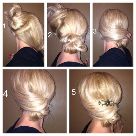 Simple Fancy Hairstyles by Easy Updo Hair And Makeup By Emily