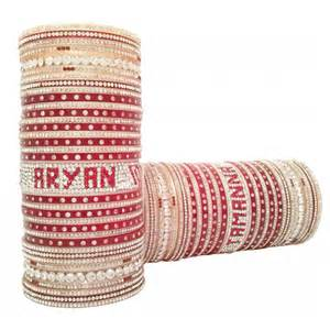 Wedding Chura With Name Wedding Name Chura Bridal Name Bangles Online Name Bangles Designs