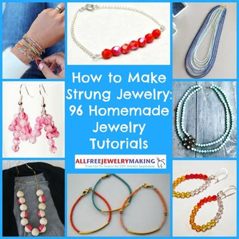 how to make jewelry for beginners 16 free jewelry projects for beginners 8 basic