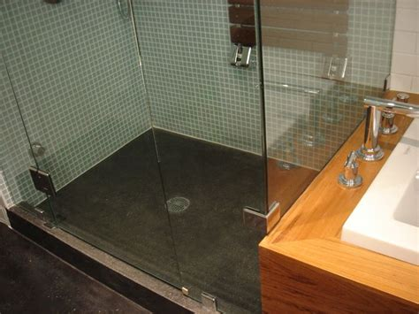 Poured Shower Pan by Concrete Polished Floor Polished Concrete Shower Floor
