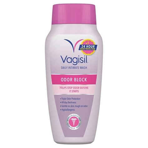 vagisil feminine wash with odor block protection light vagisil odor block protection wash light and fresh scent 12oz target