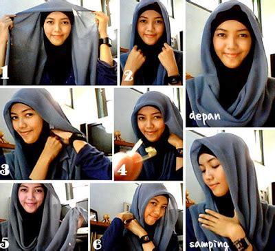 tutorial hijab anak muda 2016 tutorial hijab segi empat simple dan modis 2016