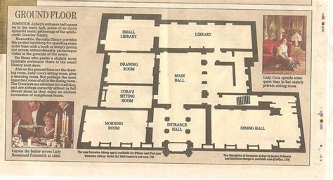 highclere castle floor plans downton abbey floor plan 3 lifestyle of downton abby