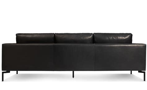 New Leather Sofas New Standard 92 Quot Leather Sofa Hivemodern