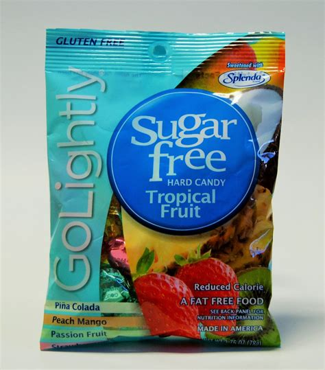 Syrup Fruity 183 golightly sugar free tropical fruit candies
