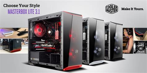 Cool Master Masterbox Lite 3 1 cooler master introduces masterbox lite 3 1 for matx