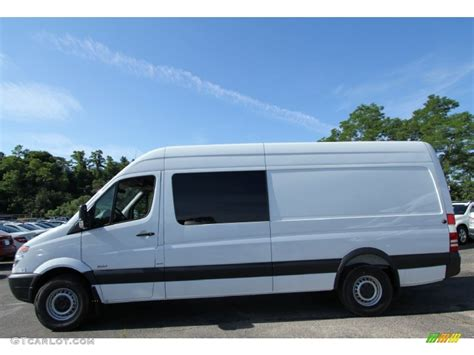 Mercedes Sprinter Crew by Arctic White 2012 Mercedes Sprinter 2500 High Roof