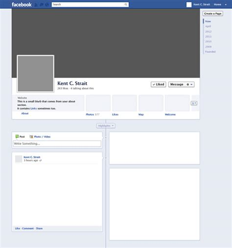 templates for facebook 8 amazing blank facebook templates free sles