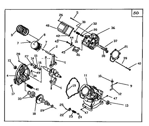 craftsman pressure washer parts diagram craftsman pressure washer block assembly parts